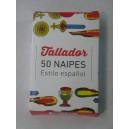 "NAIPE ESPAÑOL 50 CARTAS ""TALLADOR"" X 12"