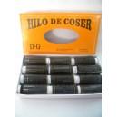 HILO DE COSER GRANDE NEGROS X 12U